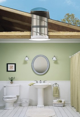 bathroom sun tunnel